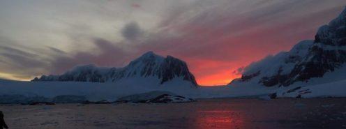 Antartic sunrise