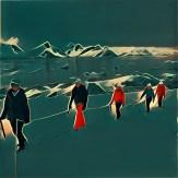 Walking the Glacier