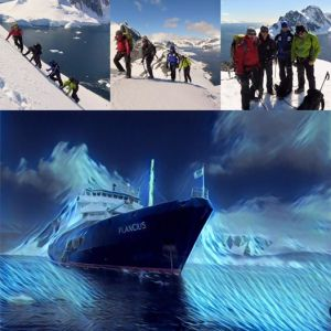 MV Plancius - Antarctic Peninsula Mountaineering