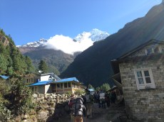 Thamserku from the Khumbu Valley