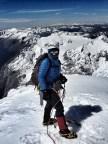 Louise Yeaman - Summit of Mt Aspiring