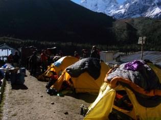 Finally in Pangboche and getting ready for a rest day