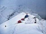 Pangi Camp Ridge - During the Storm