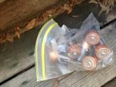 Dead batteries. Wow, I'm so glad we still have those. TRASH.