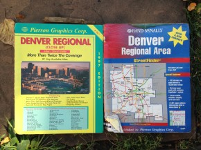 Regional maps from the 90s. There's this thing called the iPhone and it has really nifty maps on it. TRASH.