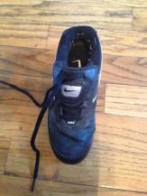 One shoe. Sigh.