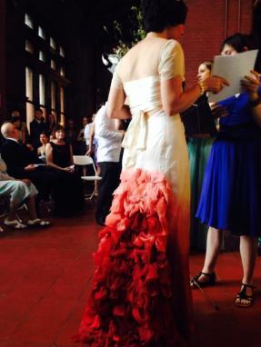 Her dress was friggin' amazing