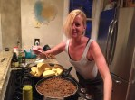 Not a great picture of MPT but she can cook the shit out of taco meat