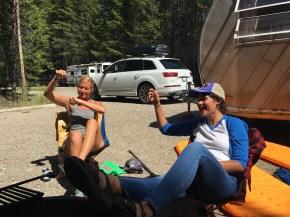 "The ""fun"" campsite"