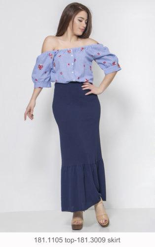 181.1105 top-181.3009 skirt