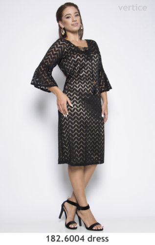 Lace Dress Plus Size