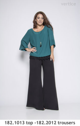 Plus size top trouser