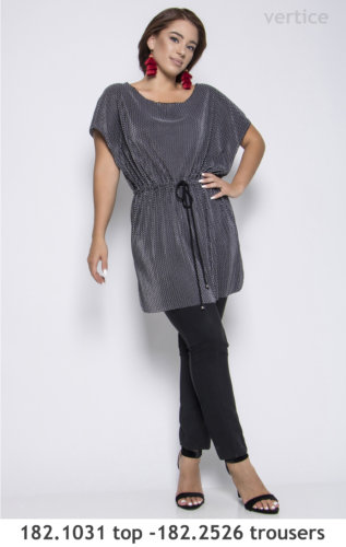 modern top and trousers plus size