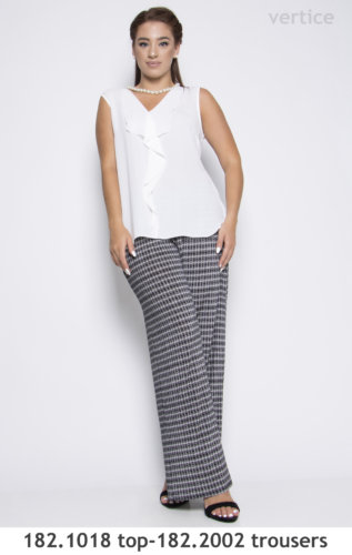 tops and trousers plus size