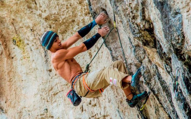 Klettern mit VERTICS.Sleeves