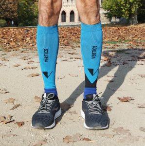 VERTICS.Calfs compression cuffs for calfs at running