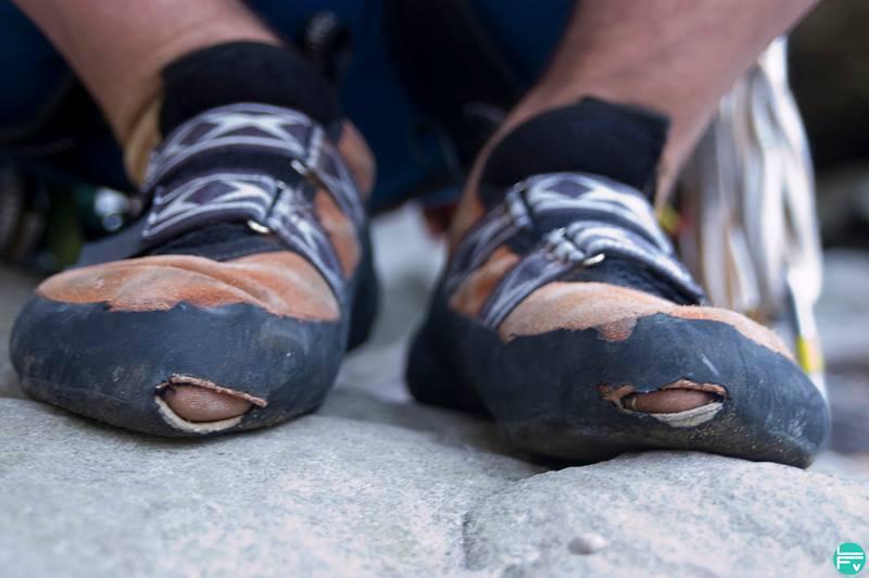 Kletterschuhe mit Löchern VERTICS.Shoepatch