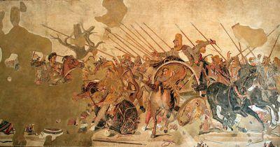 Pintura de Alejandro Magnoo