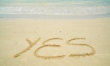 Saying Yes to Saying No!