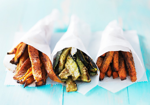 Baked Zucchini Fries With Shichimi Togarashi