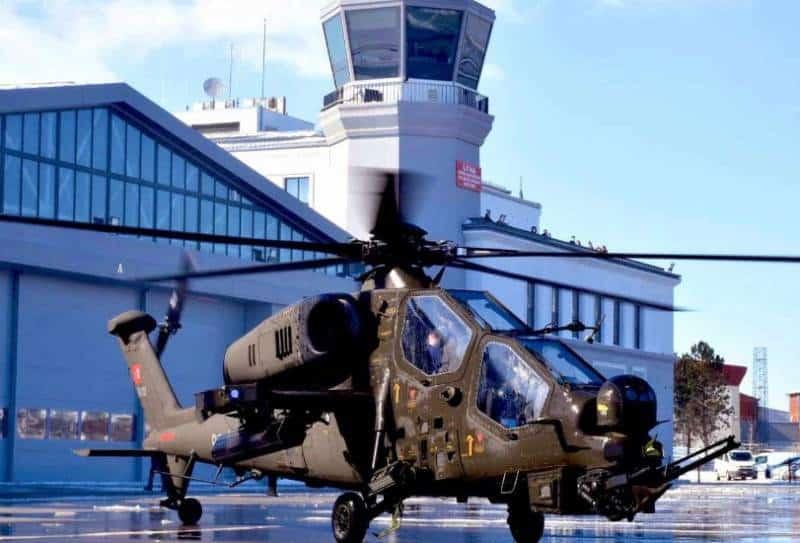 Турецкий ударный вертолет ATAK-II