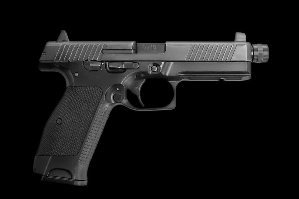 модульный пистолет Лебедева