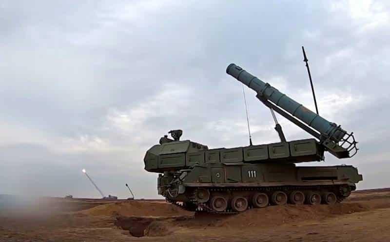 """Зенитный ракетный комплекс """"Бук-М3"""""""