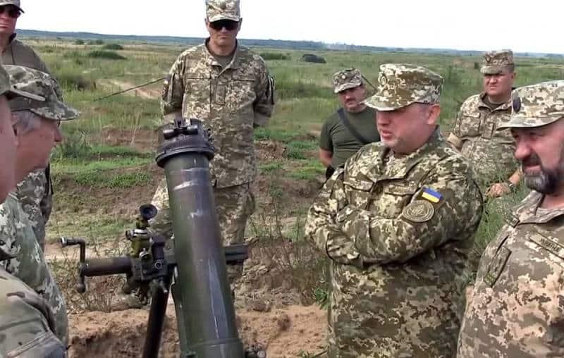 Украинский миномёт М60-16