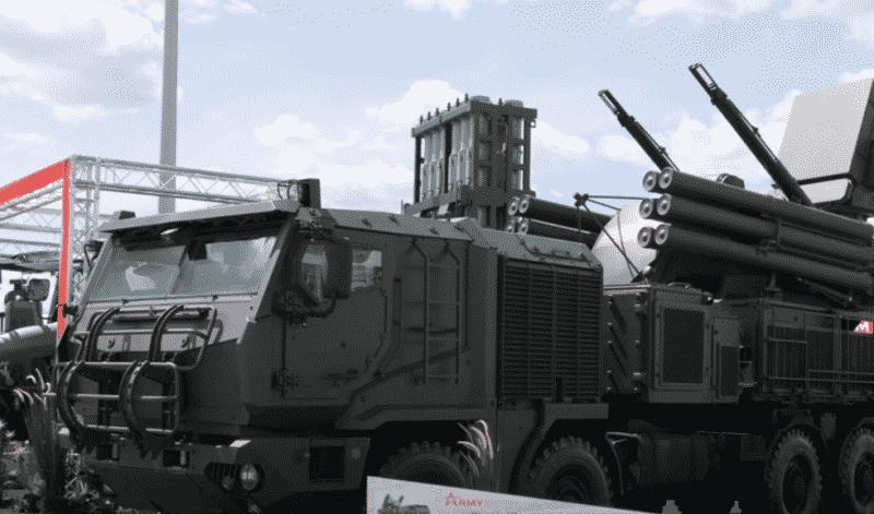 Новейшие зенитные ракетно-пушечные комплексы Панцирь-СМ