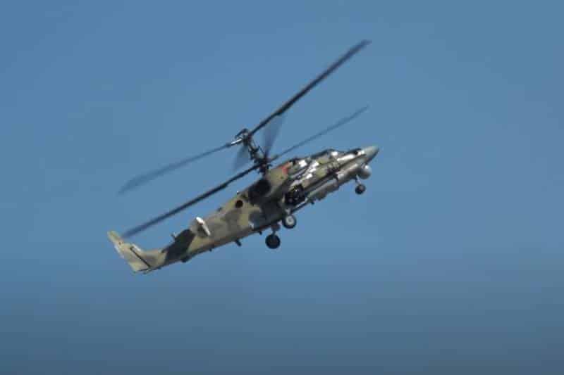 новая версия винтокрылых машин Ка-52М