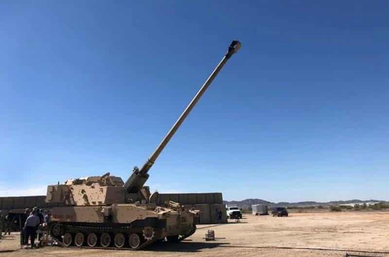 прототип дальнобойных самоходных гаубиц M109A7