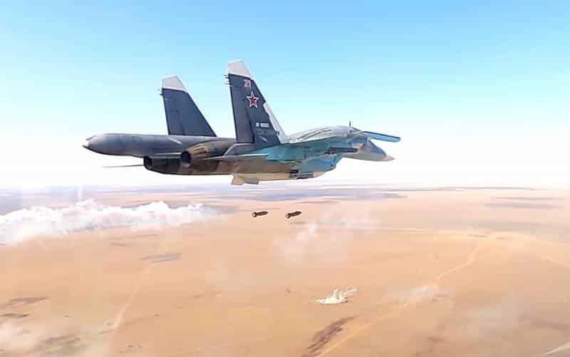 Самолет Су-34М