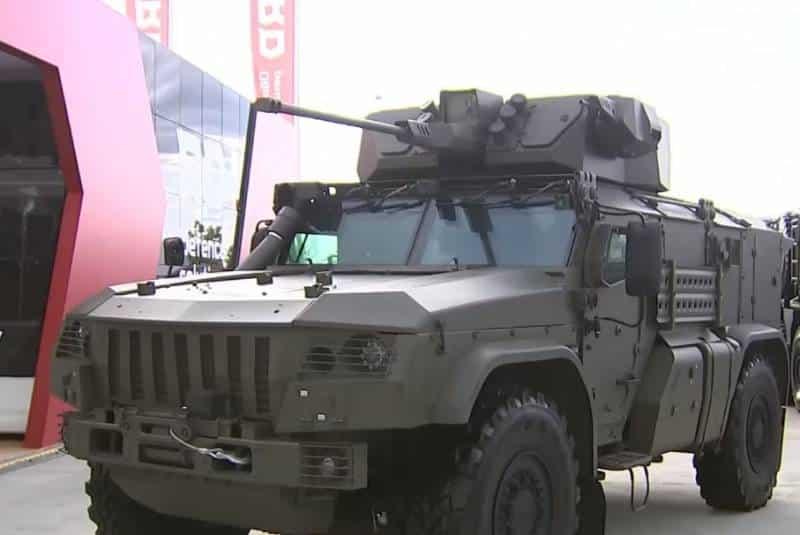 десантируемая бронемашина «Тайфун-ВДВ»