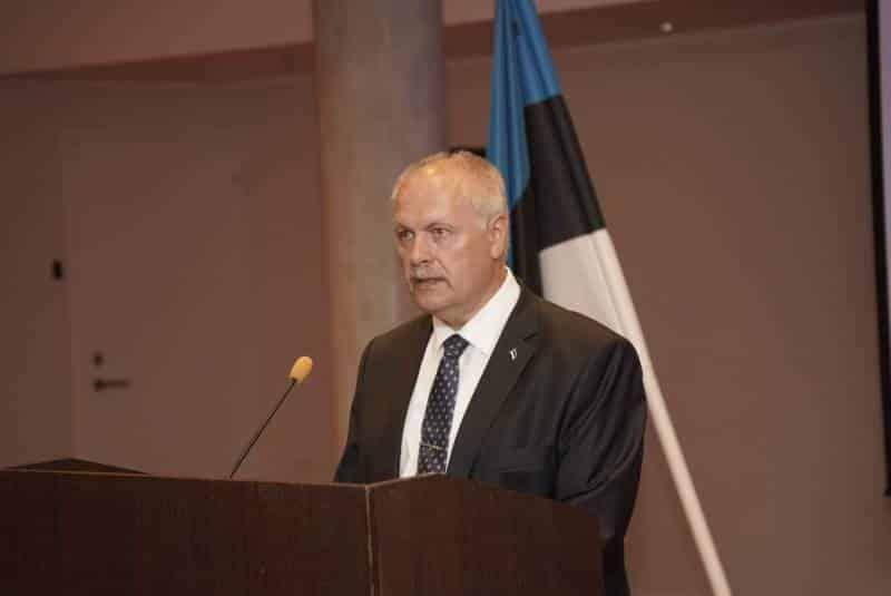 кандидат в президенты Эстонии Хенн Пыллуаас