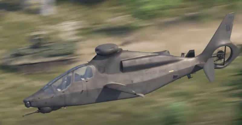 вертолёт Bell 360 Invictus