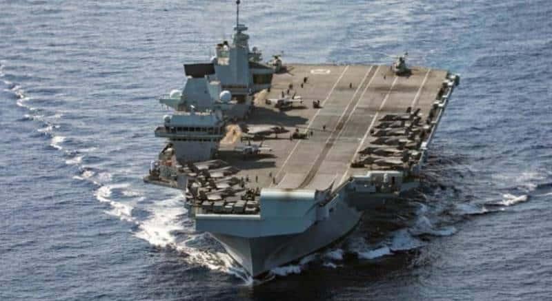 китайская реакция на пребывание авианосной ударной группы в Южно-Китайском море