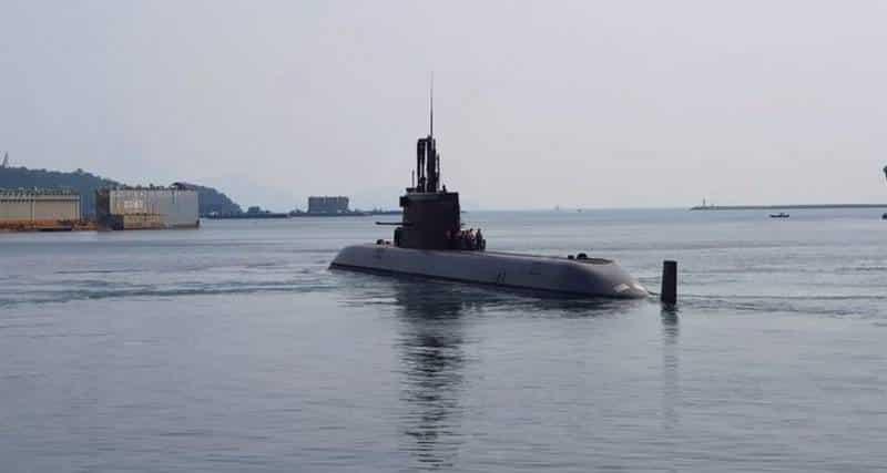первая дизель-электрическая подводная лодка класса KSS-III