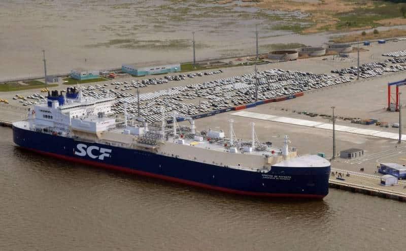 Арктический танкер-газовоз