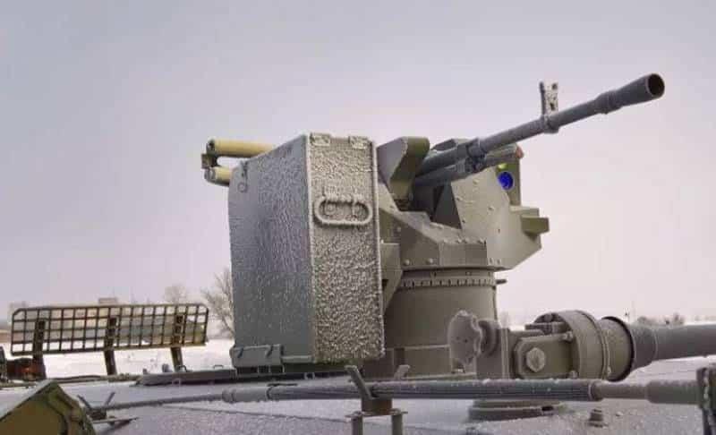 Боевой модуль на «сухопутном» носителе