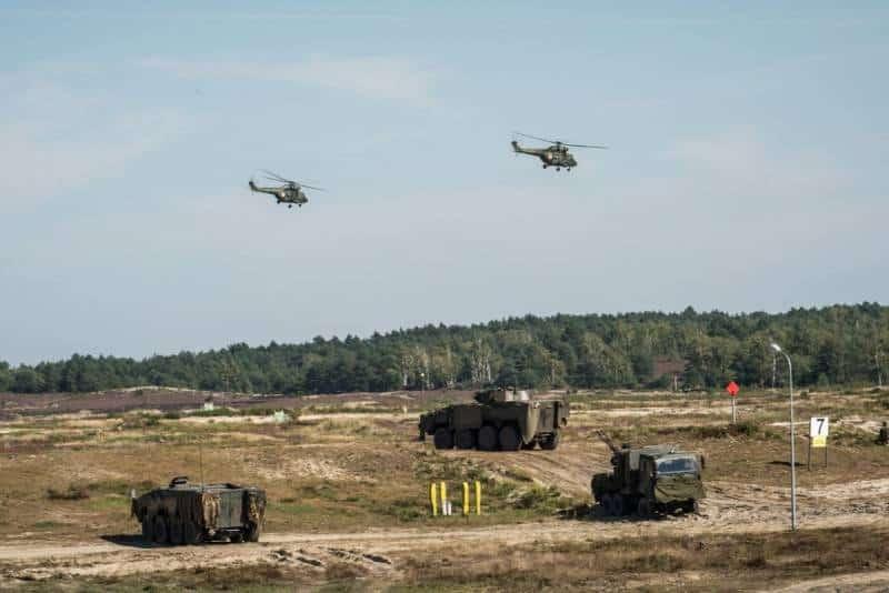 В Польше стартовали военные учения «Рысь-21»
