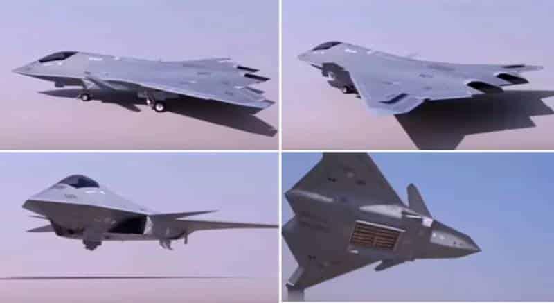 Китайский перспективный боевой самолёт 6-го поколения