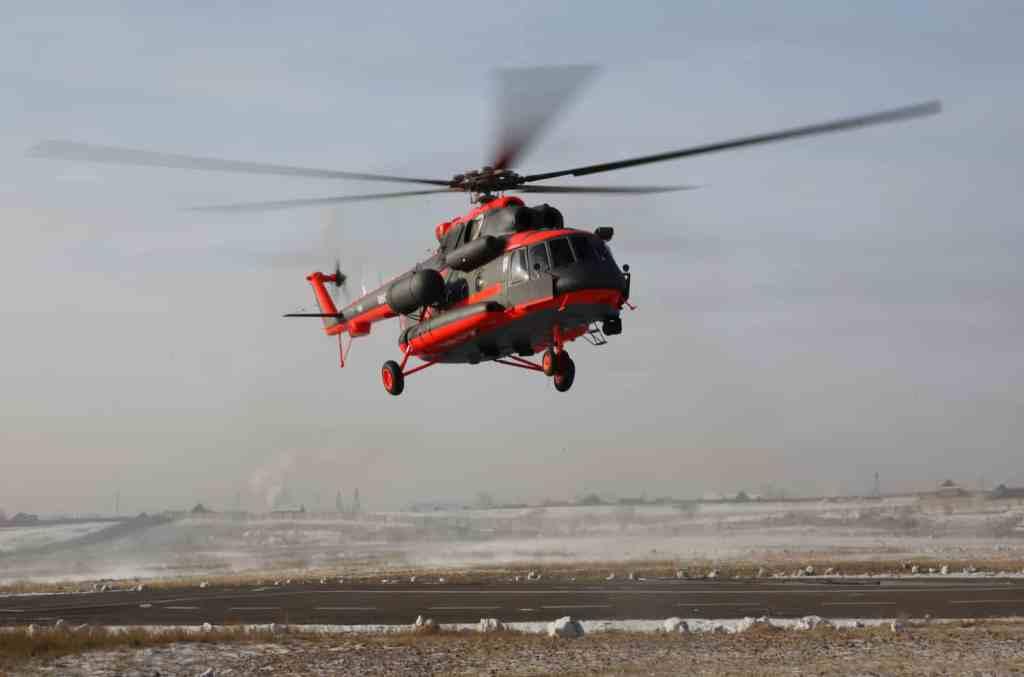 вертолет Ми-8АМТШ-ВА