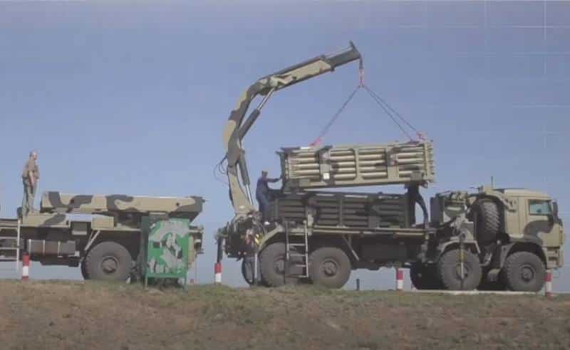 войсковая проверка новой системы минирования