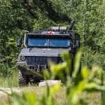 Новые медицинские бронеавтомобили «Линза» ЗВО прошли апробацию на спецучениях в Нижегородской области