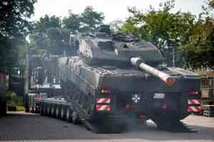 модернизированные танки Leopard 2A7V