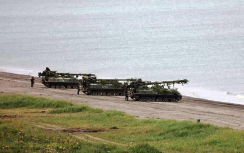 на Курильских островах стартовали военные учения