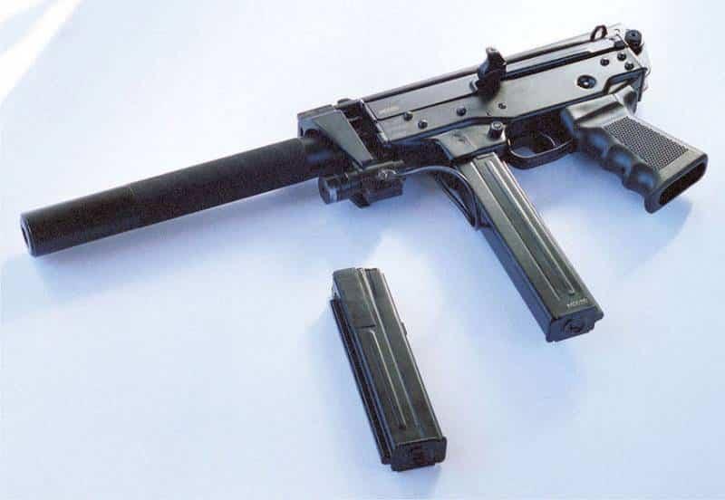 новый пистолет-пулемет КЕДР-PARA