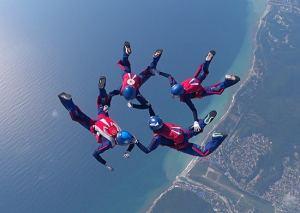 соревнования Кубка Вооруженных Сил РФ по парашютному спорту