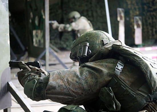 спецназ ВВО совершенствуют навыки армейской тактической стрельбы