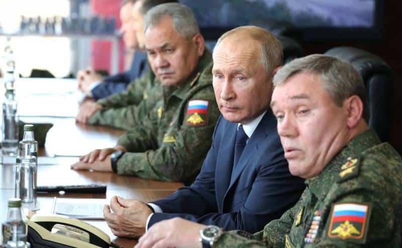 13 сентября Владимир Путин прибыл в Мулино